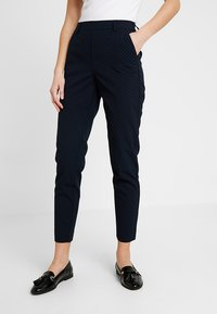 ONLY - ONLCLASSY COOL ANKLE PANT - Kalhoty - night sky - 0