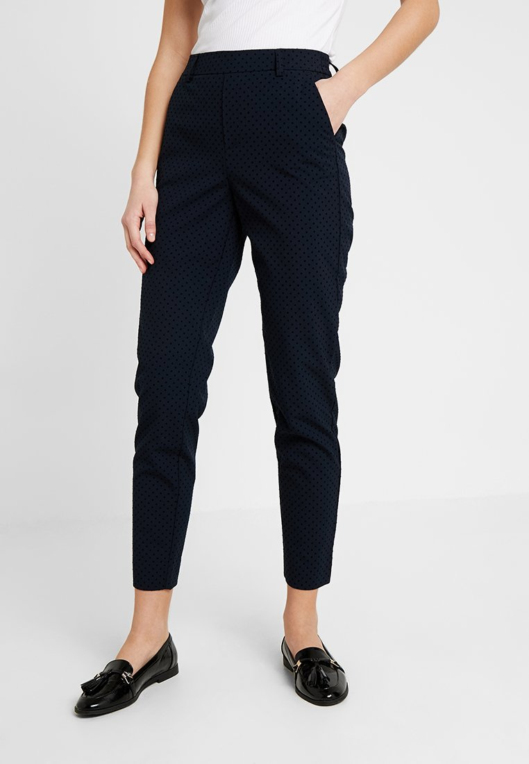ONLY - ONLCLASSY COOL ANKLE PANT - Stoffhose - night sky