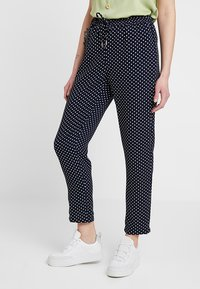 ONLY - ONLJULIA PANTS - Bukse - night sky/cloud dancer - 0
