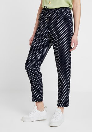 ONLJULIA PANTS - Bukse - night sky/cloud dancer