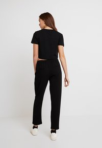 ONLY - ONLJULIA PANTS - Pantalones - black - 3