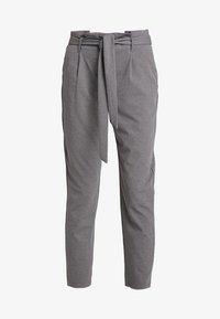 ONLY - ONLLOTTA BELT PANT - Trousers - dark grey melange - 3