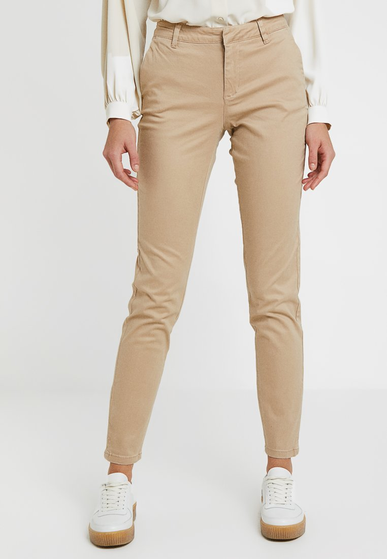 ONLY - ONLMONACO - Stoffhose - light brown