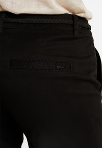ONLY - ONLEVELYN ANKLE PANT  - Chinos - black - 3