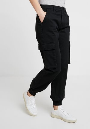 ONLTIGER PANT - Trousers - black