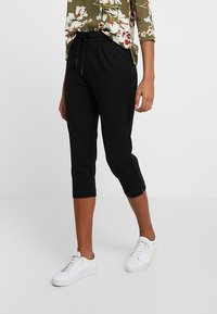 ONLY - ONLPOPTRASH EASY PANT - Short - black - 0