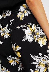 ONLY - ONLNOVA PANT - Trousers - black/yellow - 5