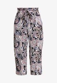 ONLY - ONLNOVA CROPPED PALAZZO PANT  - Pantalones - black - 3