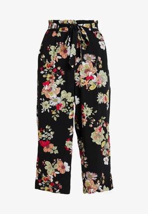 ONLNOVA CROPPED PALAZZO PANT  - Trousers - black
