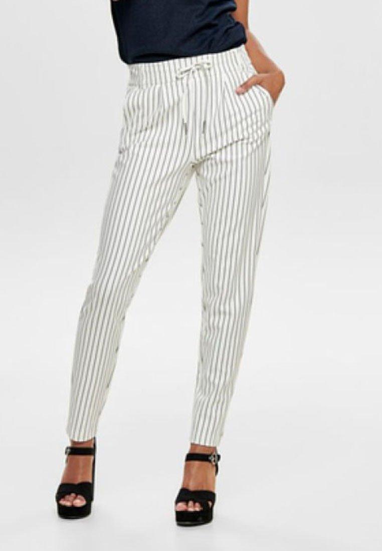 ONLY - PANTALON POPTRASH - Pantalones - off-white