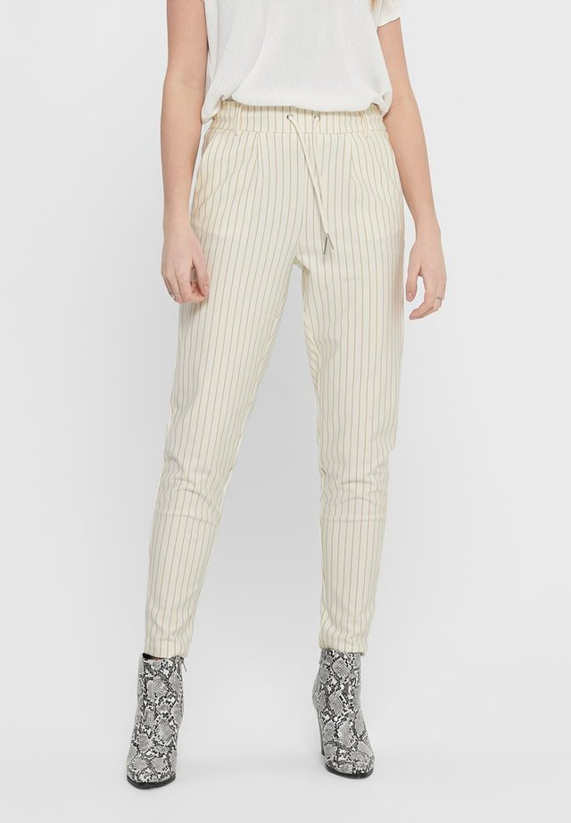 PANTALON POPTRASH - Pantalones - cloud dancer 2