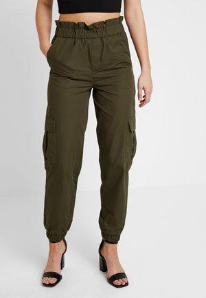 ONLLENE CARGO LONG PANT - Kalhoty - kalamata