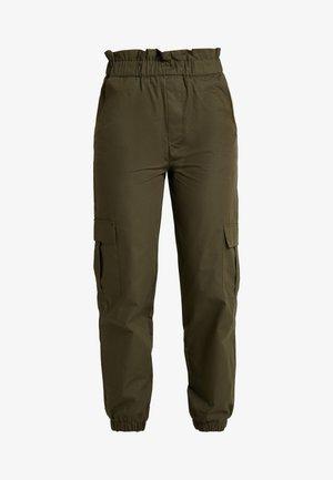 ONLLENE CARGO LONG PANT - Spodnie materiałowe - kalamata