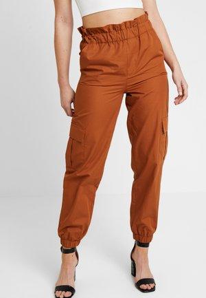 ONLLENE CARGO LONG PANT - Pantalones - argan oil