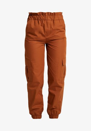 ONLLENE CARGO LONG PANT - Trousers - argan oil