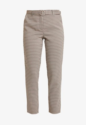 ONLISAK PANT  - Spodnie materiałowe - decadent chocolate