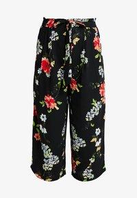 ONLY - ONLJEAN CROPPED PANTS - Trousers - black - 3