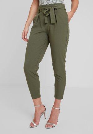 ONLZIA NICOLE PANTS - Trousers - kalamata