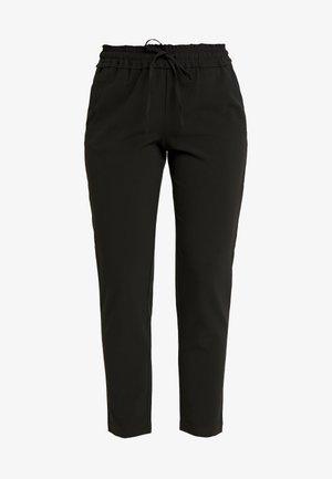 FINI RUFFLE WAIST PANTS  - Kalhoty - black