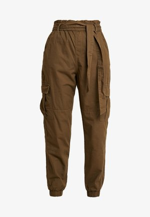 ONLMILES ANCLE PAPERBAG PANT - Bukse - beech