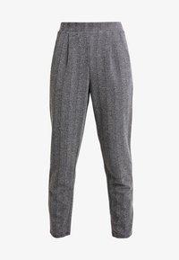 ONLY - ONLFLIFE PANTS - Bukser - dark grey melange/moonbeam - 4