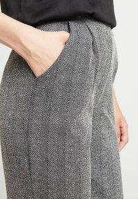 ONLY - ONLFLIFE PANTS - Bukser - dark grey melange/moonbeam - 5