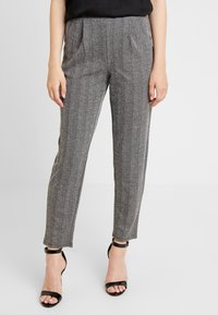 ONLY - ONLFLIFE PANTS - Bukser - dark grey melange/moonbeam - 0