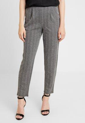ONLFLIFE PANTS - Pantaloni - dark grey melange/moonbeam