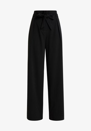 ONLSICA WIDE PANTS - Trousers - black