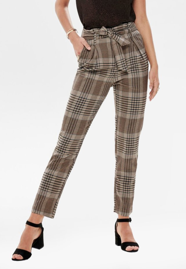 Pantalones - silver filigree