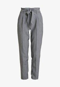 ONLY - ONLYARROW BELT PANT - Pantaloni - medium grey melange - 4