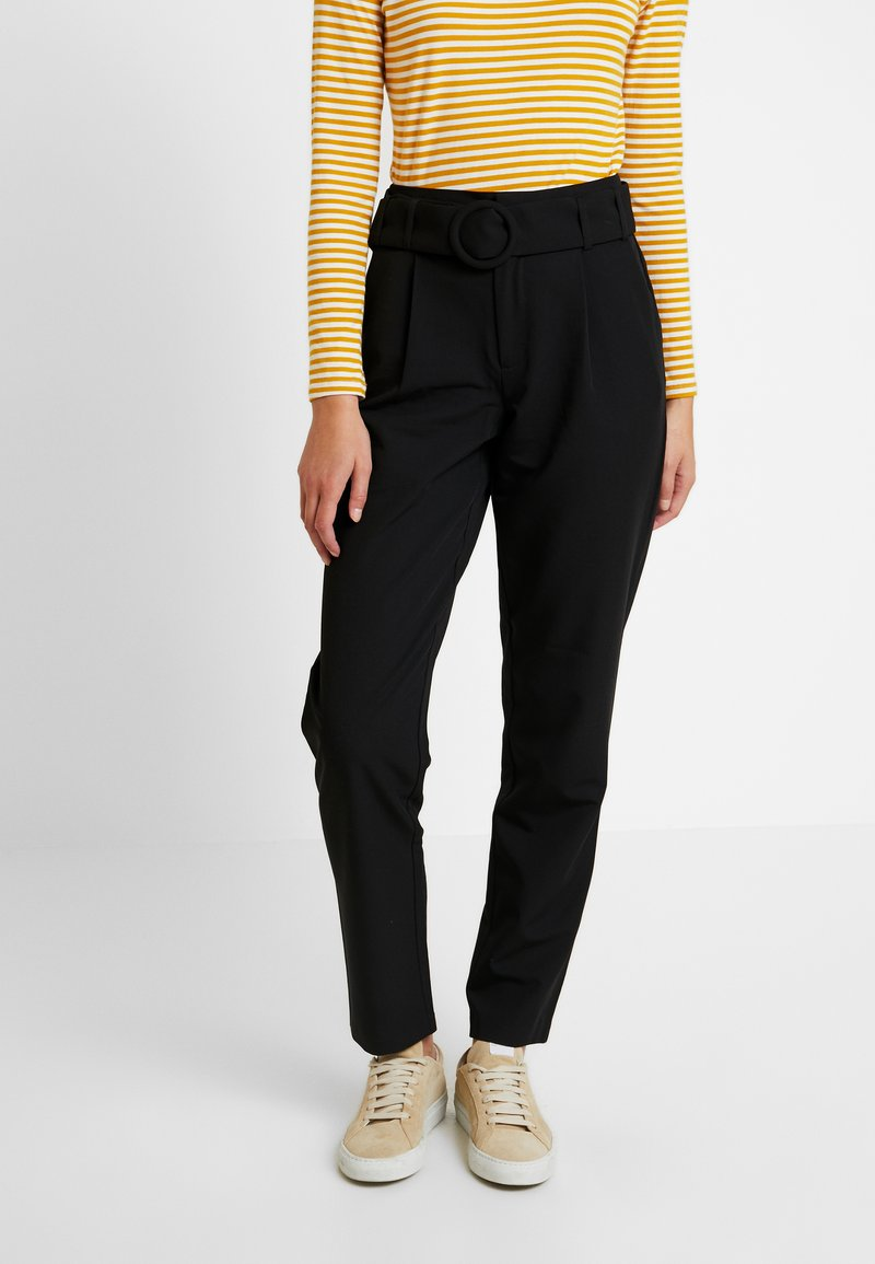 ONLY - ONLBERTA PANT - Trousers - black