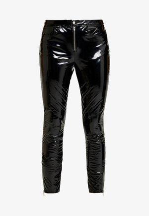 ONLBEA GLAZED PANT - Kalhoty - black