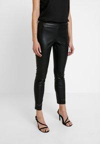 ONLY - ONLSIA PANT - Kalhoty - black - 0