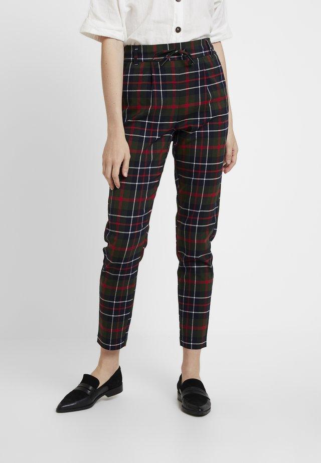 ONLPOPTRASH NEXT CHECK PANT - Pantalones - black