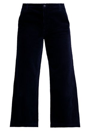 ONLMORRIS WIDE CROPPED PANTS - Pantaloni - night sky