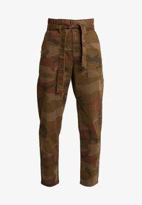 ONLY - ONLZAFIR PANT - Spodnie materiałowe - forest night - 4
