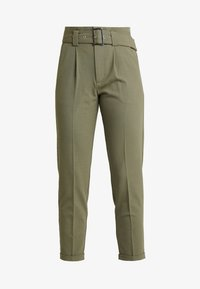 ONLY - ONLROSIE BELT PANT - Bukse - kalamata - 3