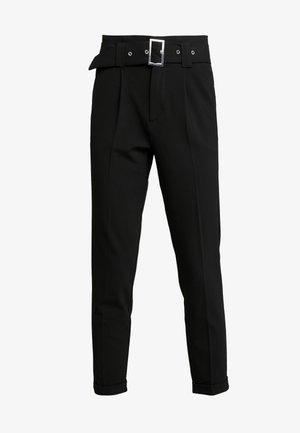ONLROSIE BELT PANT - Pantalon classique - black
