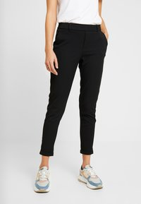 ONLY - ONLGINA KAYA PANTS - Trousers - black - 0