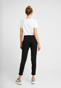 ONLY - ONLGINA KAYA PANTS - Trousers - black - 2