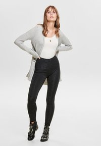 ONLY - Leggings - Trousers - black - 1