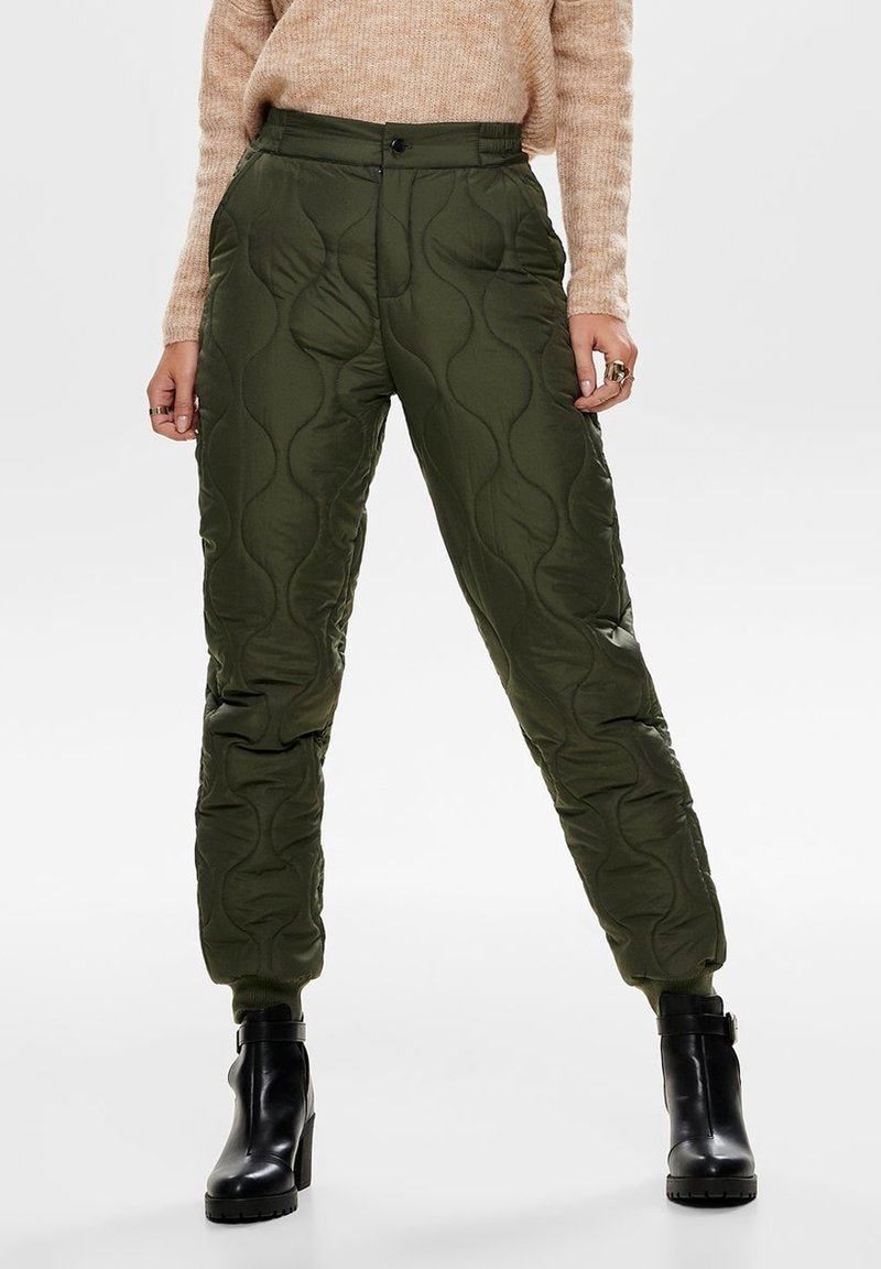 ONLY - Trousers - light green