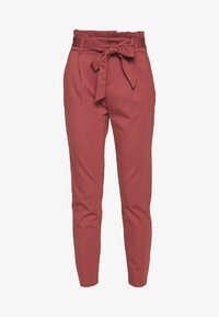 ONLY - ONLPOPTRASH EASY PAPERBAG PANT - Pantalon classique - apple butter - 5