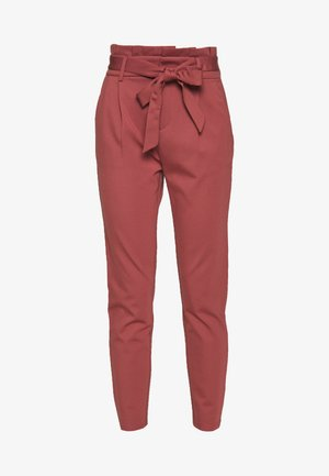 ONLPOPTRASH EASY PAPERBAG PANT - Pantalon classique - apple butter