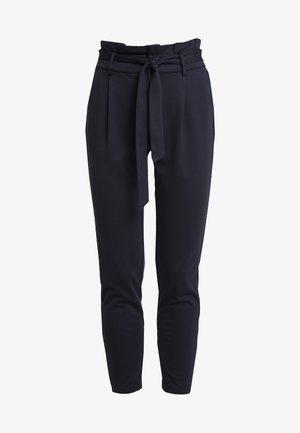 ONLPOPTRASH EASY PAPERBAG PANT - Trousers - night sky