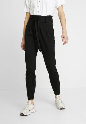 ONLPOPTRASH EASY PAPERBAG PANT - Pantalon classique - black