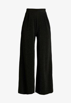ONLBECCA PANTS - Kalhoty - black