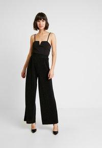 ONLY - ONLBECCA PANTS - Pantalon classique - black - 2