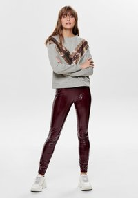 ONLY - Leggings - Trousers - tawny port - 1